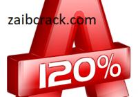 Alcohol 120% 2.1.1 Build 1019 Crack + Serial Number Free Download